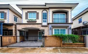For SaleHouseBang kae, Phetkasem : Twin house for sale, good price, new house, never lived!! Italian style, good location, near BTS (H1200) Golden Neo Bangkhae project (Golden Neo Bangkhae)