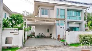 เช่าบ้านพัทยา บางแสน ชลบุรี : บ้านเช่า 3 นอน 3 น้ำ 2 ชั้น พื้นที่กว้าง 62.4 ตร.วา  คาซ่าวิลล์ สวนเสือ ศรีราชา