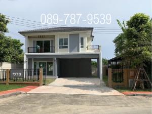 For SaleHouseRama5, Ratchapruek, Bangkruai : Detached house for sale, Passorn Pride Rama 5-Sirindhorn, corner house