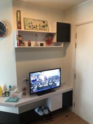 For RentCondoBangna, Lasalle, Bearing : For rent, Lumpini Mega Bangna, size 27 sqm, rent 7000฿, very nice room, 20th floor