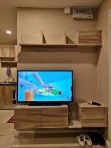 For RentCondoRamkhamhaeng,Min Buri, Romklao : Condo for rent, The Cube Plus, Minburi *On the main road, near the intersection of Mueang Min and the Pink Line BTS*