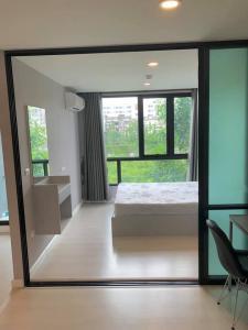 For SaleCondoRamkhamhaeng,Min Buri, Romklao : Condo for sale, The Cube Plus, Minburi, fully furnished.