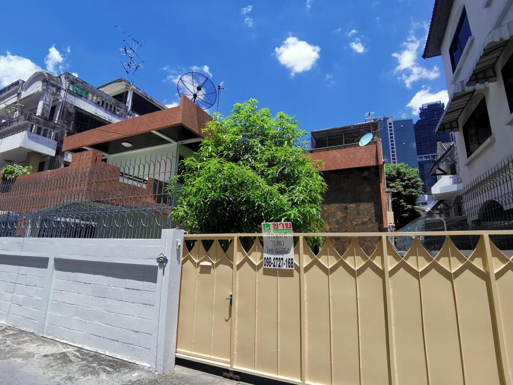 For SaleHouseSathorn, Narathiwat : House for sale, 71 sq m, St. Louis 1, walking distance to BTS Surasak.