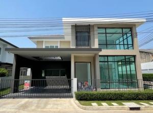 For SaleHouseRathburana, Suksawat : Quick sale, single house, Centro Suksawat-Rama 3 project, behind the corner, add and renovate the whole house, very beautiful design