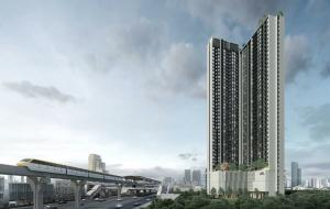 Sale DownCondoBangna, Lasalle, Bearing : Sale down payment Nue Noble Srinakarin - Lasalle (the price of the opening date has a discount)