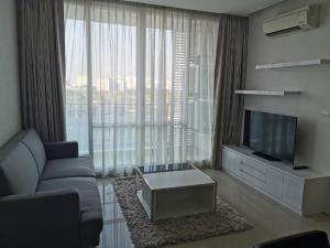 For RentCondoRama9, RCA, Petchaburi : Condo for rent, TC Green Rama 9, size 2 bedrooms, only 22,000 baht.