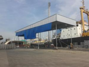 For SaleWarehouseMahachai Samut Sakhon : Warehouse + 5000 tons cold storage with Rong leaves, Samut Sakhon