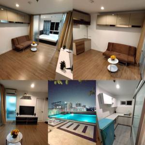 For SaleCondoBang kae, Phetkasem : Condo for sale, Lumpini Ville Bang Khae, 1 bedroom, near MRT Bang Khae only 150 m.