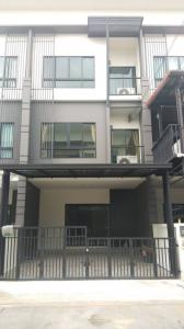 For RentTownhouseRangsit, Patumtani : 3-storey townhome for rent 💢 Casa City University, Outer Ring Road, Lam Luk Ka, Khlong 5, near Maruay Market The project is on the main road. Opposite to HomePro and Big C Lam Luk Ka away from the eastern ring road Bangna-Bang Pa-in, only 500 meters, conv