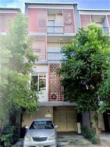 For RentTownhouseNawamin, Ramindra : Home office for rent, 3.5 floors, Siamese Blossom at Fashion, near Ramintra-At Narong Expressway.
