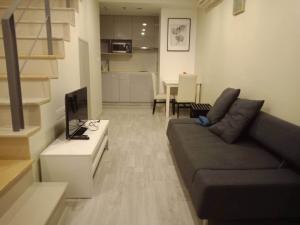 For RentCondoOnnut, Udomsuk : For rent Ideo Mobi Sukhumvit, Duplex room, hard to find, fully furnished, next to BTS On Nut