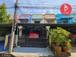 For SaleTownhouseSamrong, Samut Prakan : 2 storey townhouse for sale, Ocean Village, Bang Pu Municipality 68, Samut Prakan.