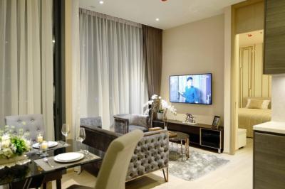 For SaleCondoSukhumvit, Asoke, Thonglor : Sale with tenant !! The Esse Asoke, very beautiful room