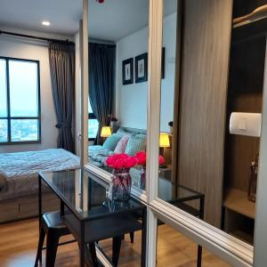For RentCondoLadprao, Central Ladprao : 🍃For rent, Chapter One, Midtown, Ladprao 24, good location, near mrt, complete electrical appliances Ready to move in 🍃