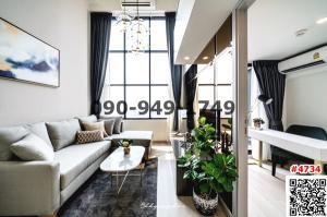 For RentCondoSathorn, Narathiwat : Condo for rent, KnightsBridge Prime Sathorn, Duplex room, beautiful decoration, ready to move in