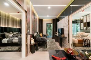 Sale DownCondoRama9, RCA, Petchaburi : Life ASOKE HYPE The lifestyle of living in the city. Condominium in the heart of Rama 9