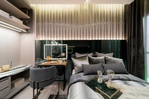 ขายดาวน์คอนโดพระราม 9 เพชรบุรีตัดใหม่ : Life ASOKE HYPE 2 ห้องนอน ส่วนกลางครบฟังก์ชั่น ทั้งการใช้งาน ชมวิว