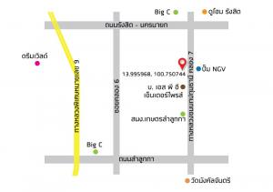 For SaleLandRangsit, Patumtani : Vacant land next to Baan Sucharee Plus project, Lam Luk Ka, Khlong 7