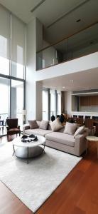 เช่าคอนโดสาทร นราธิวาส : คอนโดให้เช่า The Sukhothai Residence  ประเภท Duplex 3 ห้องนอน 3 ห้องน้ำ ขนาด 328 ตร.ม.