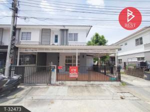 For SaleTownhouseSamrong, Samut Prakan : Townhouse for sale Pruksa 85 Nam Daeng-Thepharak Samut Prakan.
