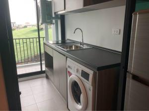 For RentCondoBangna, Lasalle, Bearing : 🍃For rent, Notting Hill, Sukhumvit 105, very beautiful room, complete electrical appliances, cheap price, ready to move in. Urgent. 🍃