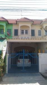 For SaleTownhouseBangbuathong, Sainoi : 2 storey townhouse for sale, Asia Home University.