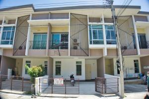 For SaleTownhouseRangsit, Patumtani : Townhome for sale, Habitown Fold (Habi Town Fold Tiwanon-Chaengwattana), Tiwanon Road, near Robinson Srisamarn, Ban Mai Subdistrict, Mueang Pathum Thani District