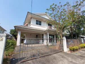 For SaleHouseRama 2, Bang Khun Thian : Urgent sale!! 🏘🏚Prueklada Village 2, Tha Kham - Rama 2 🚗🏎The project is located on the southern ring road🏎🏎