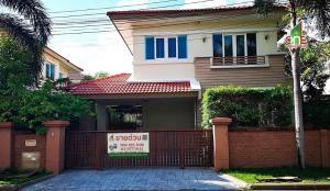 For SaleHouseChengwatana, Muangthong : 2 storey detached house, Casa Ville Ratchaphruek-Chaengwattana, Pak Kret District Nonthaburi Province