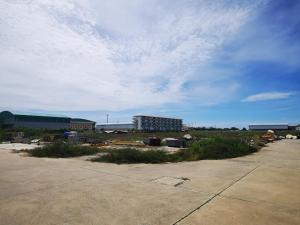 For SaleLandMahachai Samut Sakhon : 2 plots of industrial land for sale