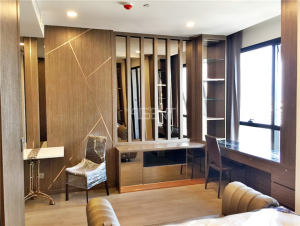 For SaleCondoSiam Paragon ,Chulalongkorn,Samyan : Urgent sale, 1 bedroom, 32.5 sqm., Ashton chula, high floor, east view, fully furnished room, ready to move in