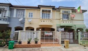 For SaleTownhouseBangbuathong, Sainoi : Townhouse 2 floors, Nanthicha Village 3/8, Ban Kluay-Sai Noi Road, Sai Noi Subdistrict, Sai Noi District, Nonthaburi