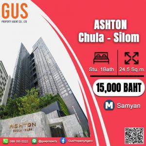 For RentCondoSiam Paragon ,Chulalongkorn,Samyan : -Hurry! occupy..... Ashton Chula - Silom Studio