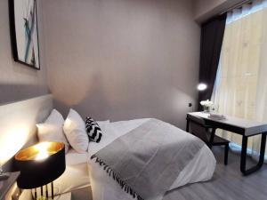 For RentCondoOnnut, Udomsuk : SK03235 For rent, The Line Sukhumvit 101, size 48 sqm., 23rd floor, ** BTS Punnawithi **