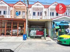 For SaleTownhouseSamrong, Samut Prakan : Townhouse for sale Feungfah Villa 12 Thepharak Samut Prakan