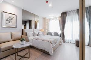 เช่าคอนโดลาดพร้าว เซ็นทรัลลาดพร้าว : 💕 ให้เช่าห้องใหม่ คอนโด Life Ladprao สตูดิโอ ชั้นสูง ตกแต่งสวยมาก พร้อมเข้าอยูได้เลย