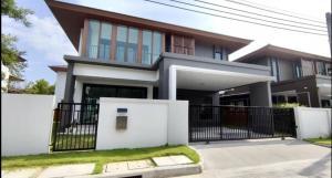 For SaleHousePattanakan, Srinakarin : Single house for sale, Burasiri Phatthanakan project 🏡🎉🎁 (new house, haven't been in yet. not decorated)