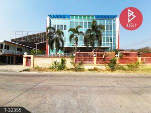 For SaleShophouseNakhon Pathom, Phutthamonthon, Salaya : Urgent sale, 3-storey commercial building, Nakhon Chai Si District. Nakhon Pathom Province
