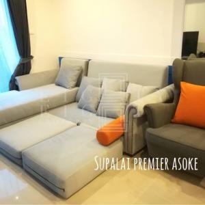 For RentCondoRama9, RCA, Petchaburi : For Rent Supalai Premier @ Asoke (51 sqm.)
