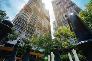 For SaleCondoSukhumvit, Asoke, Thonglor : Condo for sale Park 24 (Park 24), a shady resort style condo.