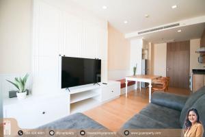 For RentCondoSukhumvit, Asoke, Thonglor : JY-R00101-Condo for rent Noble Reveal Ekamai 1 bedroom 1 bathroom 47 sq.m on 26th floor beautiful room