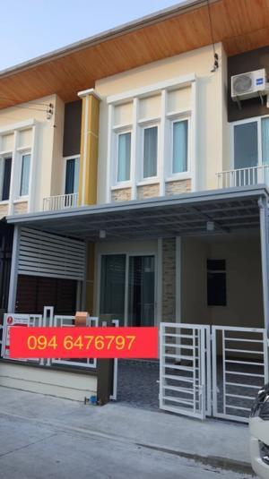 For SaleTownhouseSamrong, Samut Prakan : 🌈💥 $ €  L L    Vาย ทาวน์โฮม โกลเด้นทาวน์ สุขุมวิท-ศรีนครินทร์ (ขายพร้อมผู้เช่า)▶️ ขนาด 16 ตารางวา (อายุบ้าน 2 ปี)▶️ 3 ห้องนอน 2 ห้องน้ำ 1 ที่จอดรถ