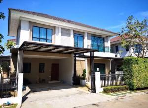 For SaleHouseLadkrabang, Suwannaphum Airport : House for sale Life Bangkok Boulevard Wongwaen-On Nut 2