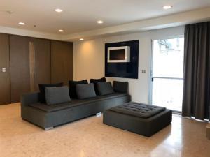For RentCondoSukhumvit, Asoke, Thonglor : ***Urgent rent, negotiable price, Nusasiri Grand Sukhumvit 42 project, condominium 3 bedrooms, 3 bathrooms, size 167 sq.m., 9th floor, fully furnished, ready to move in. Rental price 75,000 baht/month, near BTS Ekkamai.