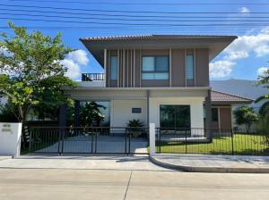 For SaleHouseRama 2, Bang Khun Thian : *V Urgent* Habitia Park Tian Talay 28 (beautiful house, green area, full on an area of more than 100 sq m.)