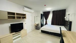 For RentCondoThaphra, Wutthakat : For rent Aspire Sathorn Taksin, 28 sqm, 4th floor, BTS วุฒากาศ, ready to move in,