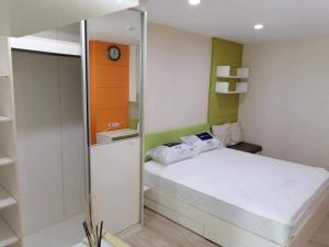 For RentCondoKaset Nawamin,Ladplakao : ** For rent, Premsiri, walk to Kasetsart University, price 6500 only, Building A **