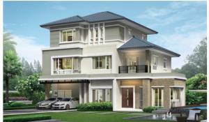 ขายบ้านพัฒนาการ ศรีนครินทร์ : [ขาย/ให้เช่า] บ้านเดี่ยว Grand Bangkok Boulevard พระราม 9 – ศรีนครินทร์   5 ห้องนอน, 7 ห้องน้ำ
