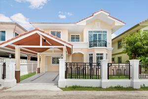 For SaleHouseBangbuathong, Sainoi : Newly renovated second-hand houses, Passorn 14, Bang Yai-Kanchana (Soi Kantana) cheap price.
