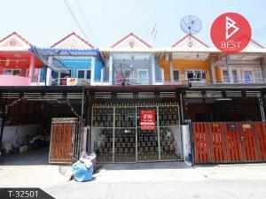 For SaleTownhouseSamrong, Samut Prakan : Townhouse for sale Feungfah Villa 10 Phraeksa Samut Prakan